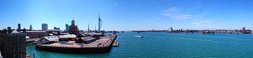 Portsmouth Dockyard Harbour Entrance | by Hexagoneye Photography