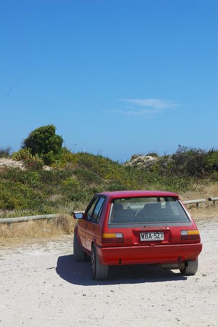The Granites car park