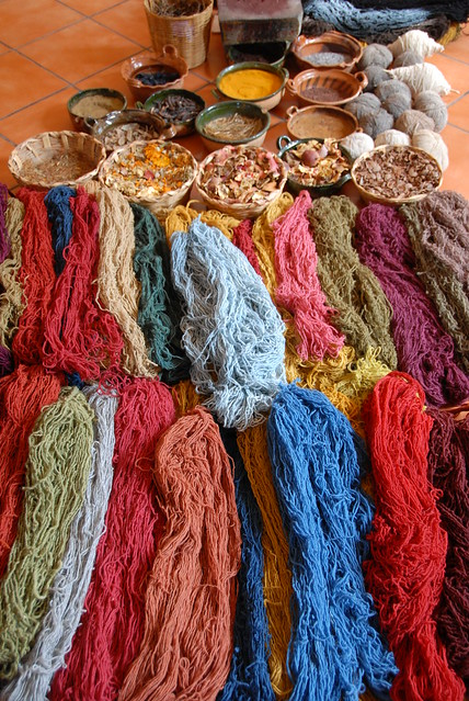 Wool and Dyes Oaxaca