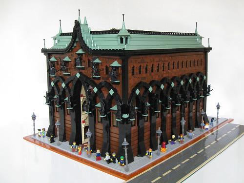 a beautiful lego house