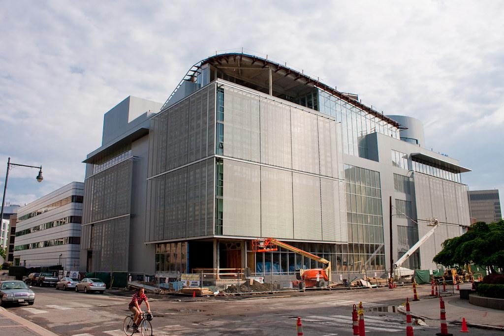 Building E14, Media Lab Extension, MIT