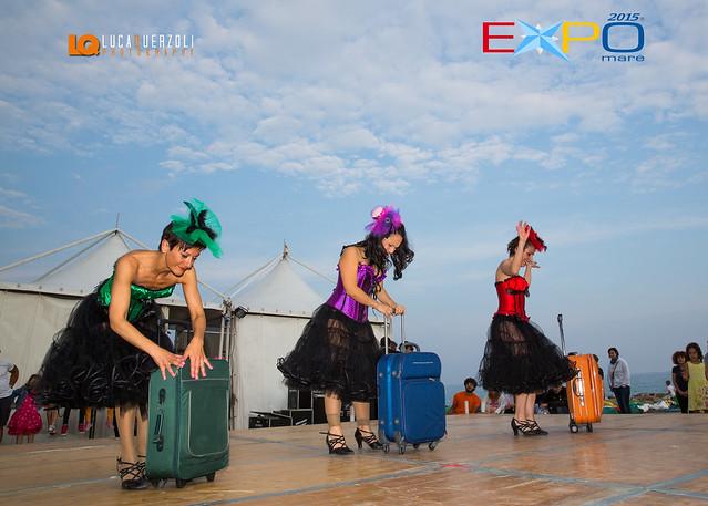 """Expomare 2015 : Spettacolo di Danza con la Scuola """"New Crazy Dance"""" Sanremo in zona mare"""