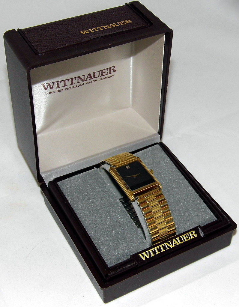 Wittnauer Watch Value >> Vintage Wittnauer Men S Quartz Watch Qwr Quartz Water Re