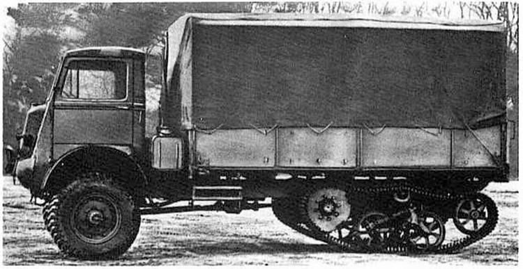 Bedford teherautó