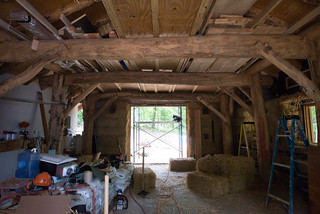Grindbygg Timberframe Strawbale Workshop in Progress | by goingslowly
