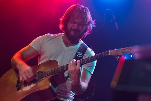 Brent Michael Wood Playing at 502 Bar   by nan palmero