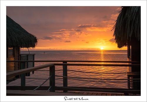 travel sunset sunrise nikon tahiti moorea polynésie sylvainbernardin