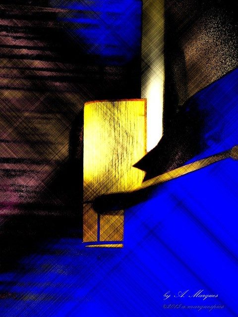 Blue Abstraction