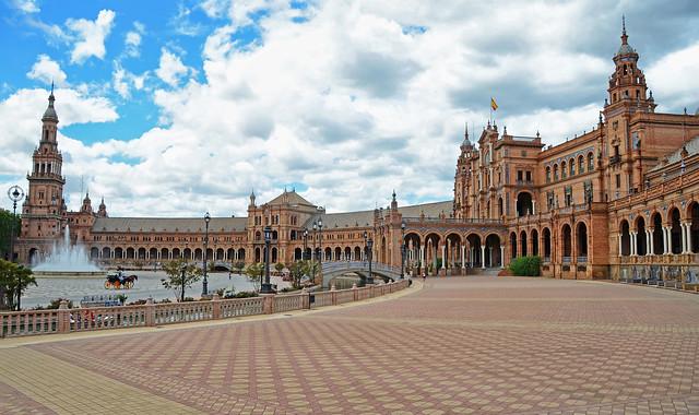 Plaza de España, Seville Spain