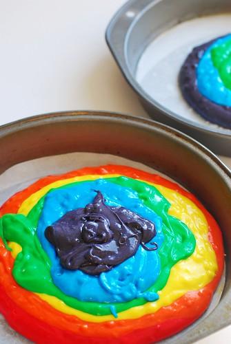 how to: rainbow cake!   by a.meadowlark