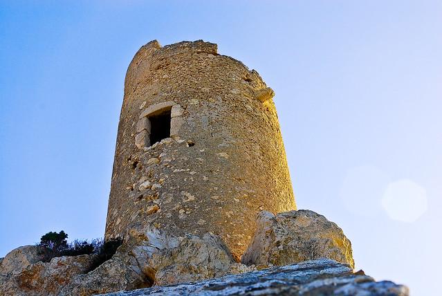 Cagliari Torre di Cala Bernat o Torre del Prezzemolo o de su Perdusemini