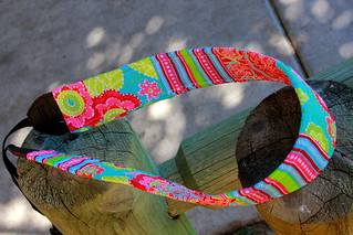 Pink & Green strap | by Darci - Stitches&Scissors