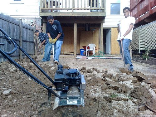 Yard Work - Soil TIlling | by Wayan Vota