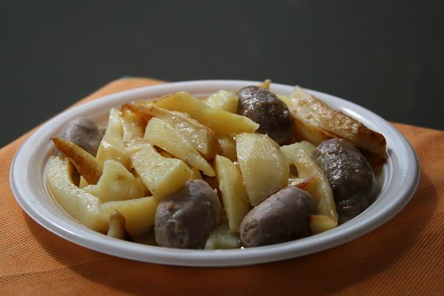 Salsiccia con le patate