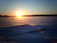 A freezing wind blowing across the frozen bay   by hugovk