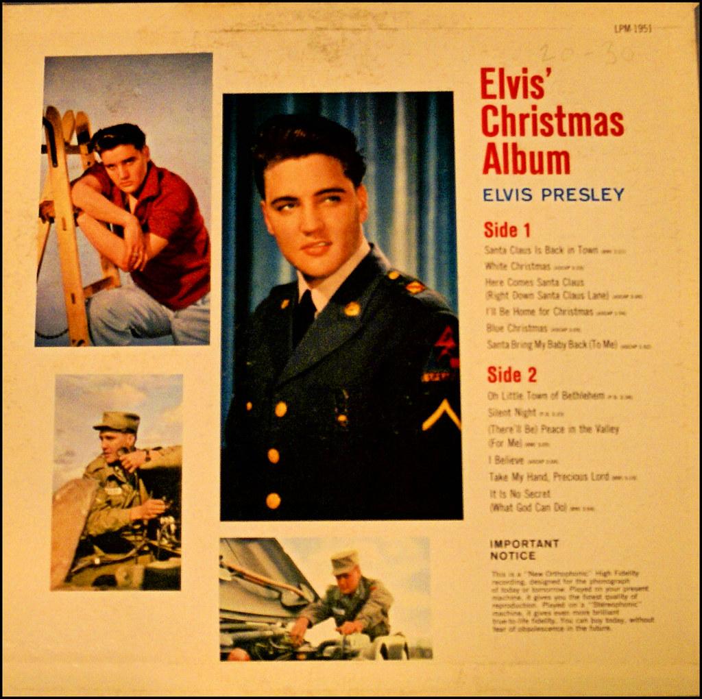 Elvis Christmas Album.Elvis Christmas Album Wayne Benner Flickr