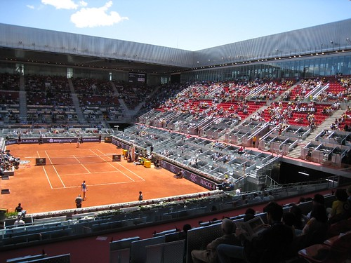 Madrid Open Center Court - Caja Magica with retractable roof | by JCTennis.com