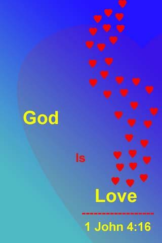 God Is Love Iphone Wallpaper 1 John 416 New King James V