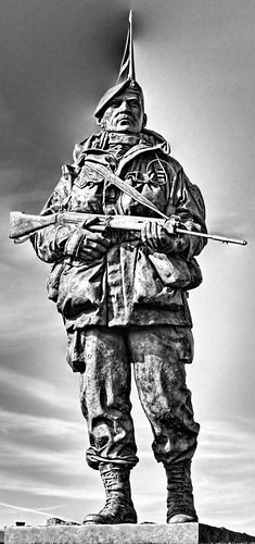 Royal Marine Museum Statue | by Hexagoneye Photography