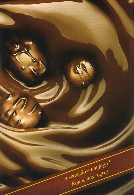 Seda Chocolate Brazil Ad Postcard