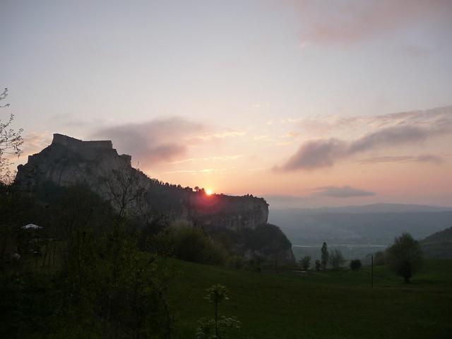 Sunset @ San Leo