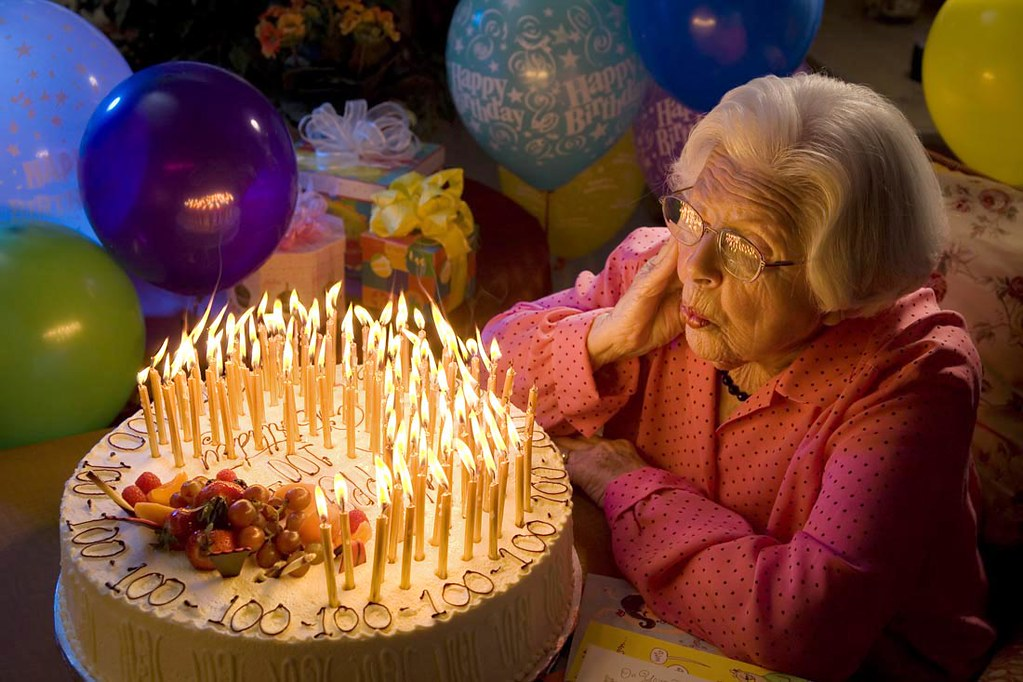 Stupendous 100 Year Old Birthday Cake San Jose Ca Steve Brown Flickr Funny Birthday Cards Online Inifofree Goldxyz
