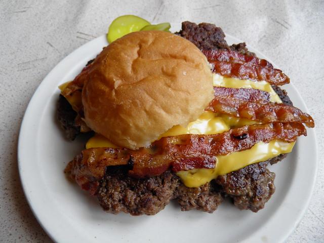 The Bacon and Cheese Gunderburger