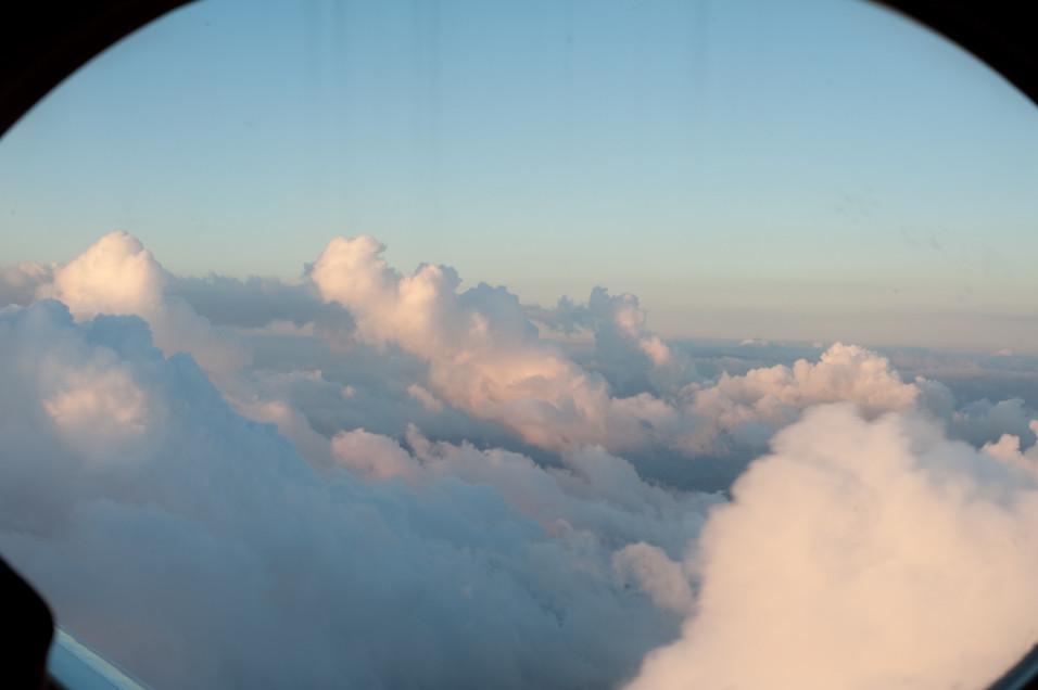 Maxfield Parish Clouds All Around Us