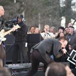 Fri, 06/03/2009 - 9:13am - Bono and Adam Clayton. WFUV Photo