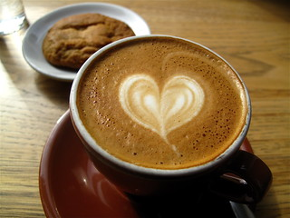 Blue Bottle Tuesday: Cappuccino and a cookie | by Premshree Pillai