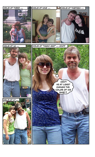 2009 Dad and Kelsi Picture | by rbieber