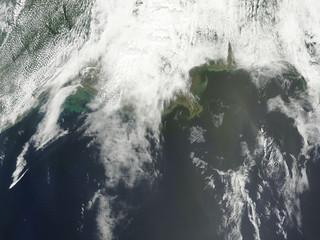 Oil Slick Near Mississippi Delta May 1st View