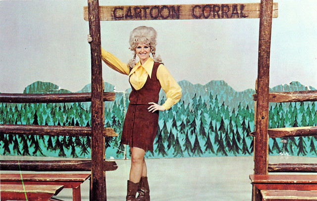 Cartoon Corral Postcard