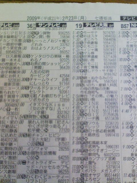 欄 県 テレビ 兵庫