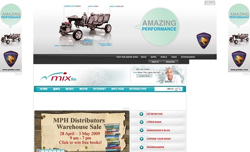 MIX fm :: lots of proton ads eh?   by byte