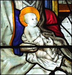 Infant Christ at the Adoration of the Magi (German, early 16th Century)