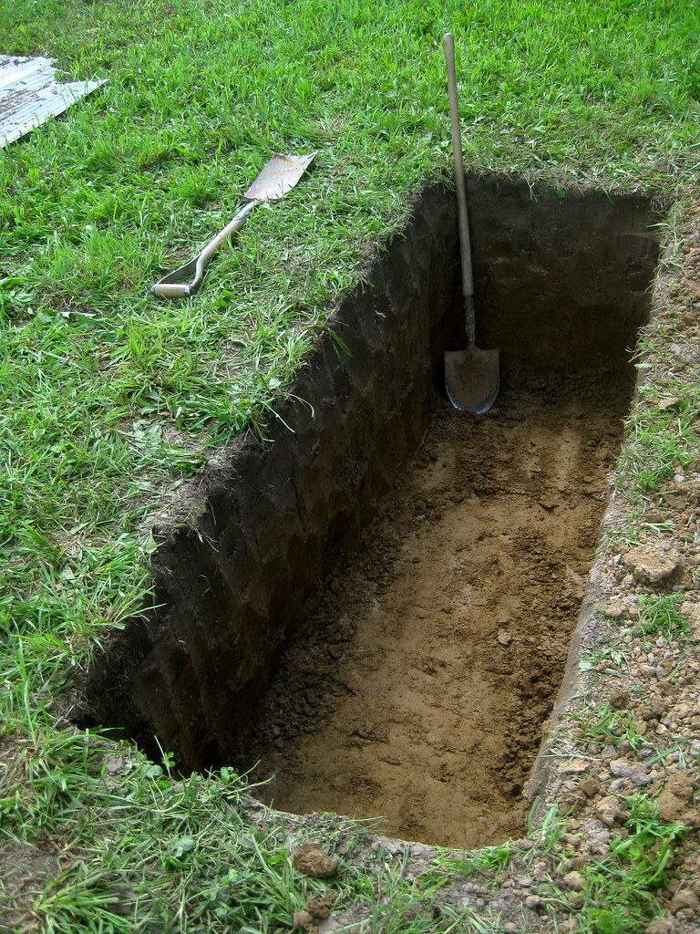 Attleson Farm Diggin A Grave Just Kidding It S The