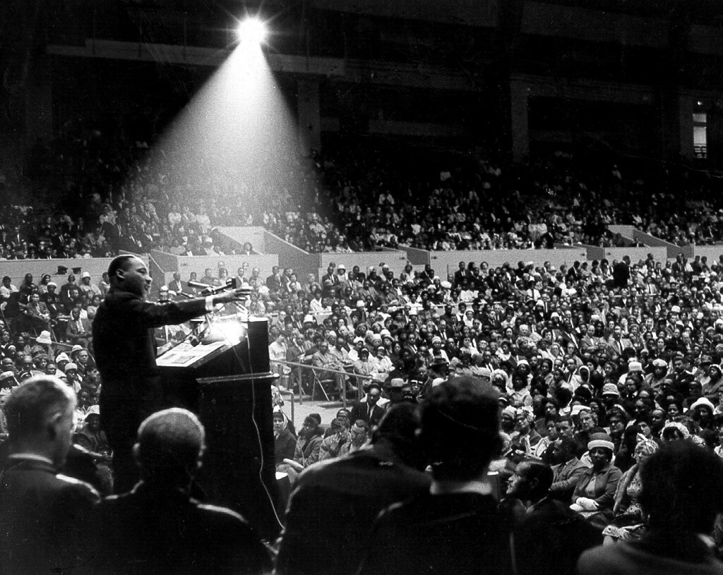 Martin Luther King, Jr. San Francisco June 30 1964