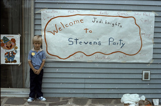 1980-09 - Jedi Party Sign