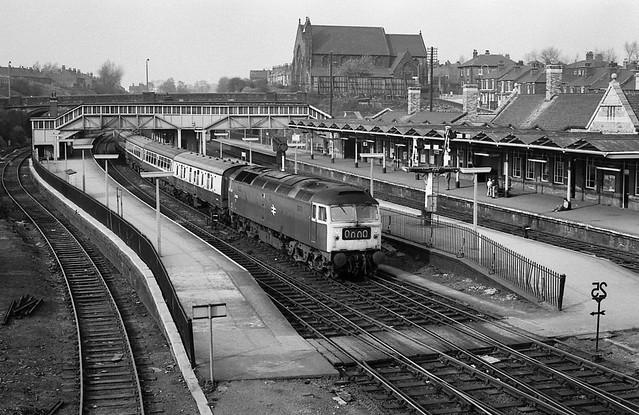 Rotherham Masborough South Yorkshire 16th April 1976