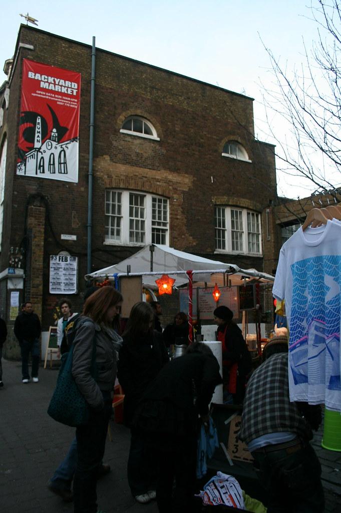 Backyard Market Brick Lane | A smaller version of Camden ...