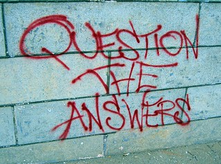 Question the Answers | by walknboston