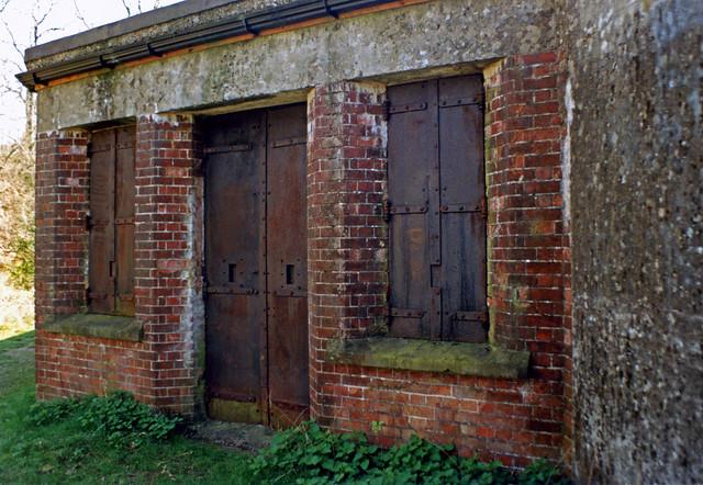 Box Hill Fort  (mobilisation centre) Surrey England