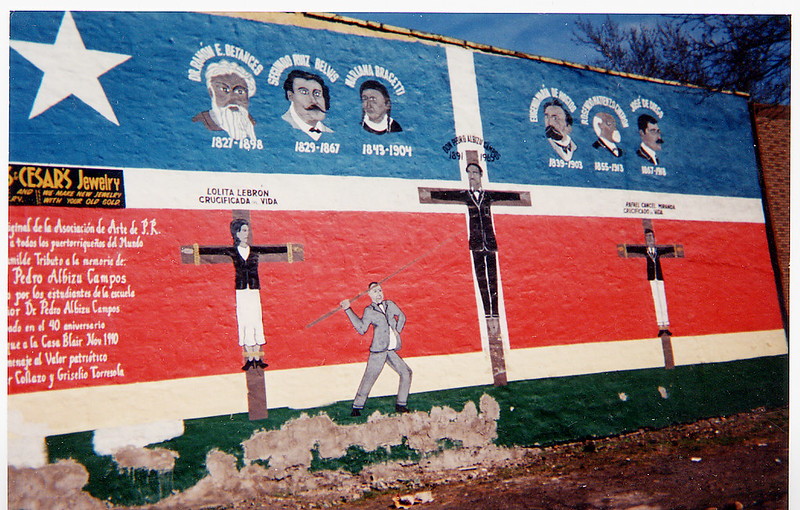 Mural-The Crucifixation of Don Pedro