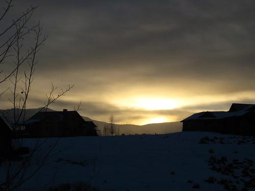sunrise colorado eagle co eagleco eagleranch