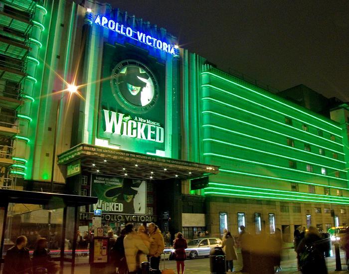 Wicked, at the Apollo Theatre, Victoria, London