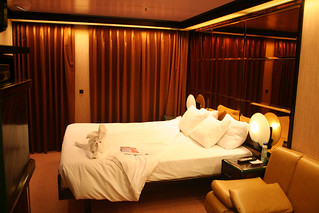 Carnival Elation - Demi-suite Bed with Towel Friend | by Miss Shari