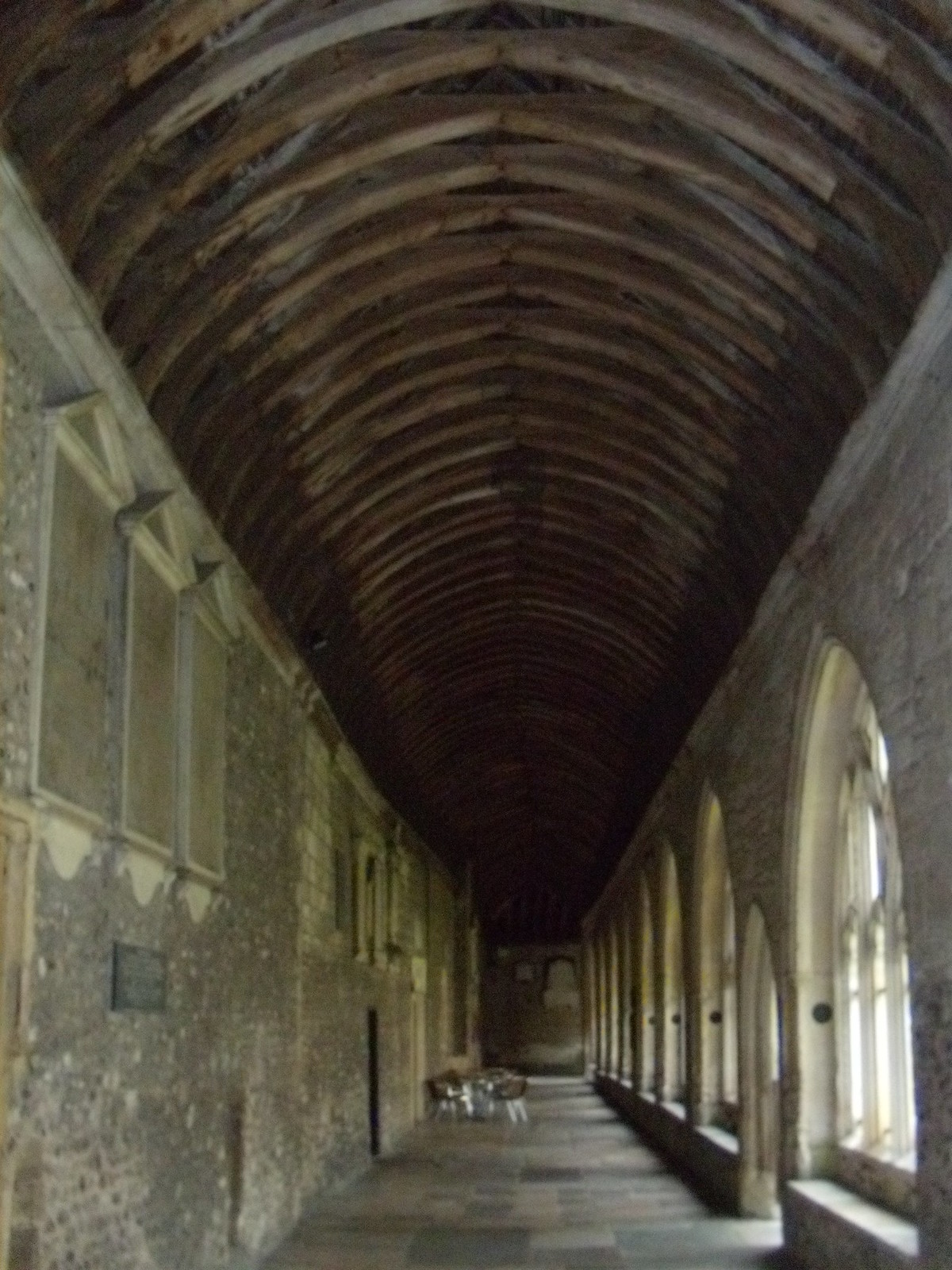 Cloisters, Chichester Cathedral Southbourne to Chichester