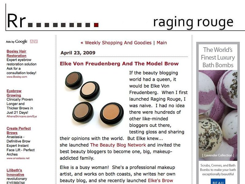 The Beauty Blog And Product Reviews Of A Makeup Addict
