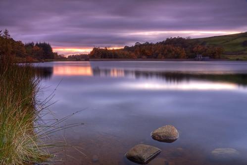 sunset yorkshire reservoir northyorkshire codbeckres